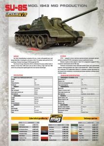 Content box 35187 SU-85 SOWJETISCHE SELBSTANGETRIEBENE PISTOLE. INNENAUSSTATTUNG