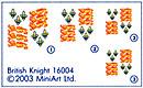 Content box 16004 ENGLISH KNIGHT XV CENTURY