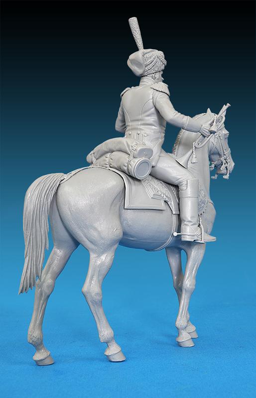16033ウエストファ-レン騎兵連隊1813トランペット奏者