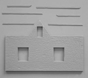 Content box 35510   场景 二战法国村庄建筑