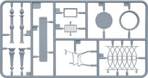 Content box 36057 带电线杆和电线的战地地面