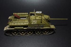 Photos 35187 SU-85 SOWJETISCHE SELBSTANGETRIEBENE PISTOLE. INNENAUSSTATTUNG