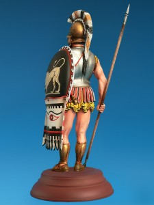 Photos 16013 GREEK HOPLITE IV CENTURY B.C.