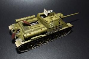 Photos 35187 SU-85 1943年型 (中期型) 带全内构