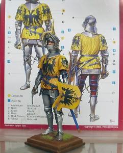 16002 GERMAN KNIGHT. XV CENTURY