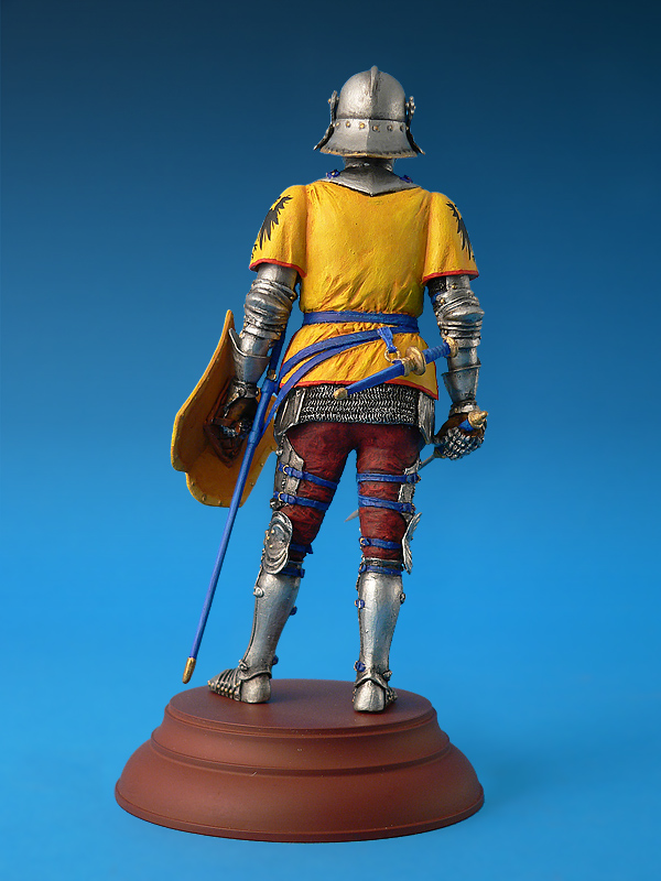 16002 GERMAN KNIGHT XV CENTURY