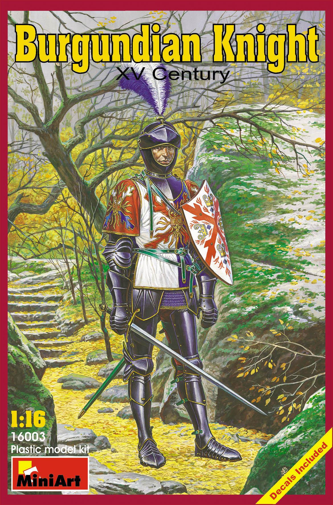 16003ブルゴーニュ騎士