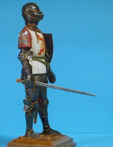 16003 BURGUNDIAN KNIGHT. XV CENTURY