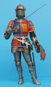 16004 ENGLISH KNIGHT. XV CENTURY