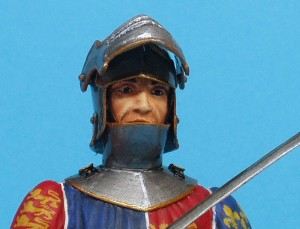 16004 ENGLISH KNIGHT. XV CENTURY