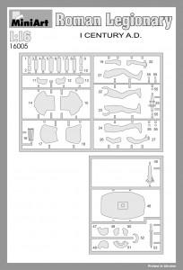 Content box 16005 ROMAN LEGIONARY I CENTURY A.D.