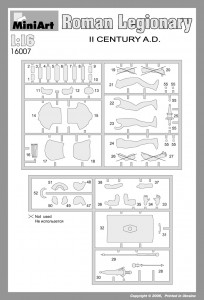 Content box 16007 ROMAN LEGIONARY II CENTURY A.D.