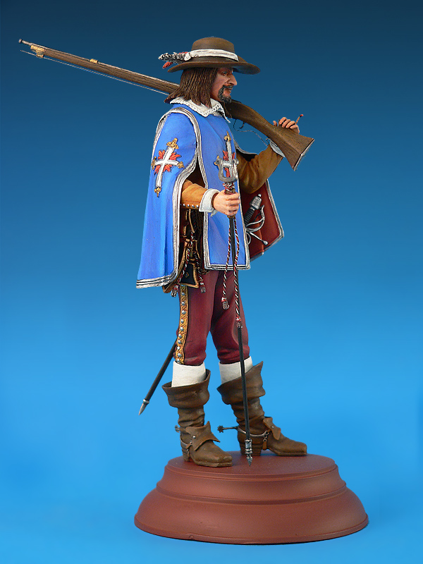 16009 FRENCH MUSKETTER XVII CENTURY