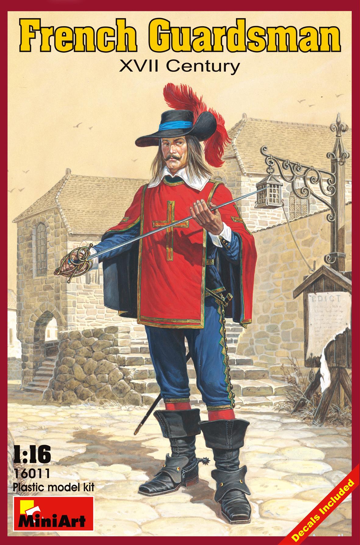 16011フランス衛兵