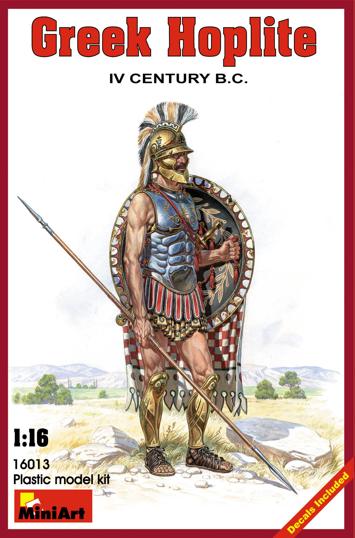 GREEK HOPLITE IV CENTURY B.C.