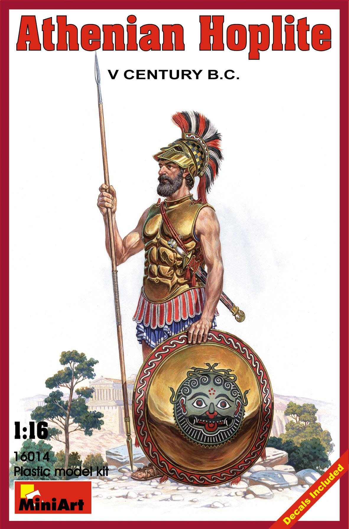 16014アテネ戦士(紀元前5世紀)