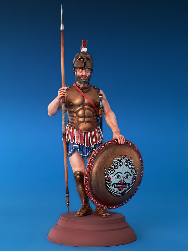 16014 ATHENIAN HOPLITE V CENTURY B.C.