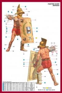 Content box 16029古代ロ-マの剣闘士