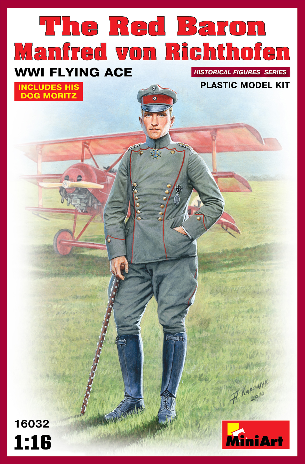 16032 THE RED BARON Manfred von Richthofen WWI FLYING ACE