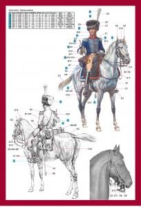 Content box 16033ウエストファ-レン騎兵連隊1813トランペット奏者