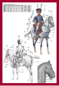 Content box 16033 TRUMPETER 1st Westphalian Cuirassiers Regiment 1813