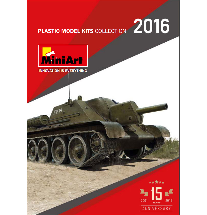 MiniArt's Catalogue 2016 2nd Edition
