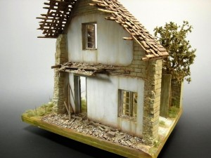 36015 VILLAGE DIORAMA BASE