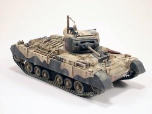 35096 BRITISH INFANTRY TANK MkIII VALENTINE Mk II w/CREW