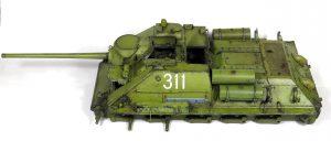 Build up 35187 SU-85 1943年型 (中期型) 带全内构