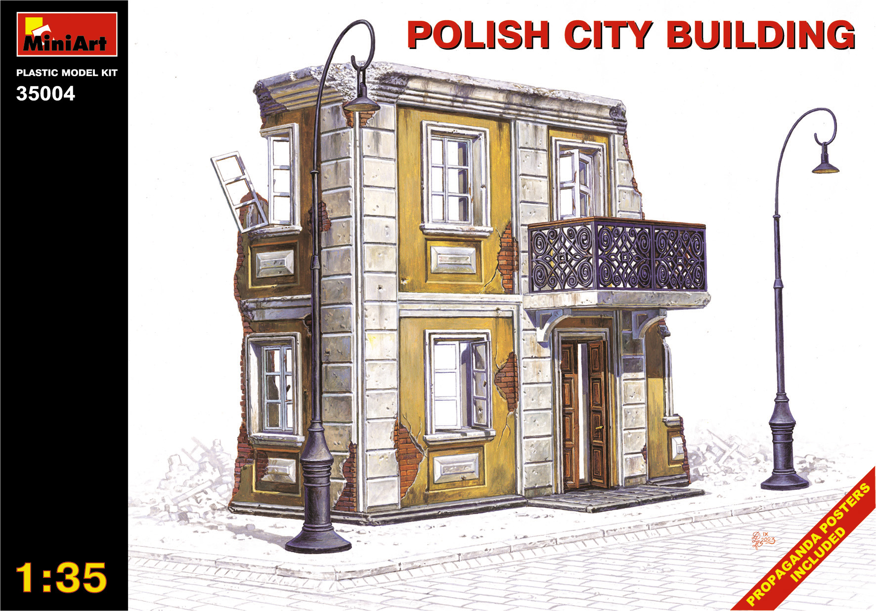 35004 POLISH CITY BUILDING