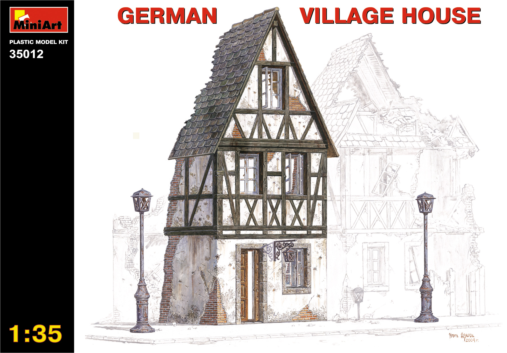 35012 GERMAN VILLAGE HOUSE