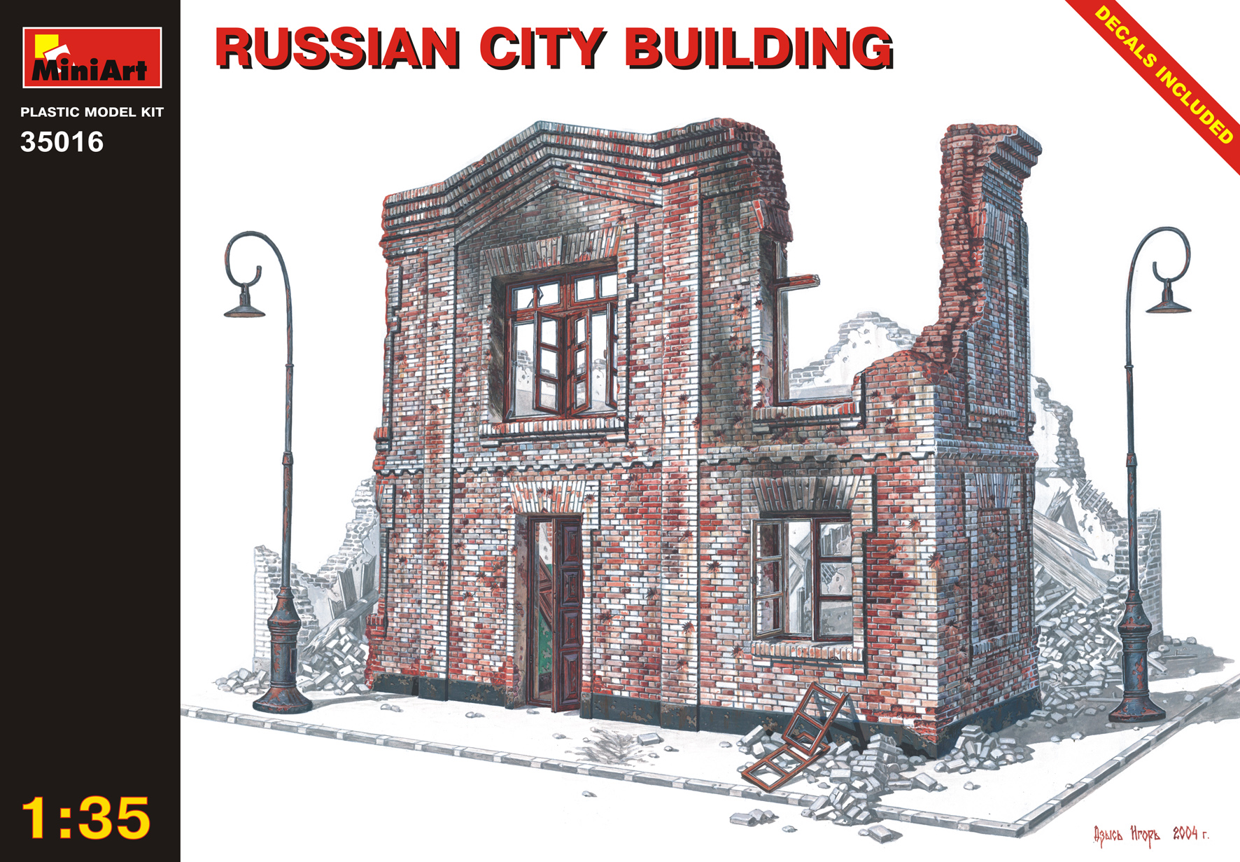 35016 RUSSIAN CITY BUILDING