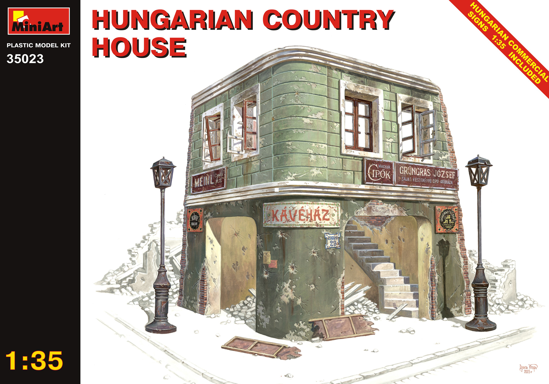 35023 HUNGARIAN COUNTRY HOUSE