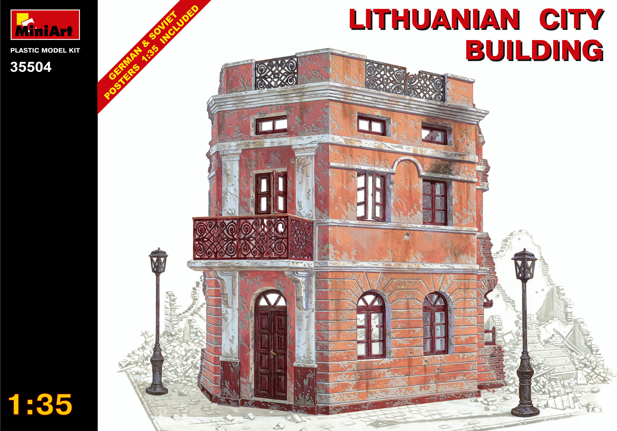 35504 LITHUANIAN CITY BUILDING