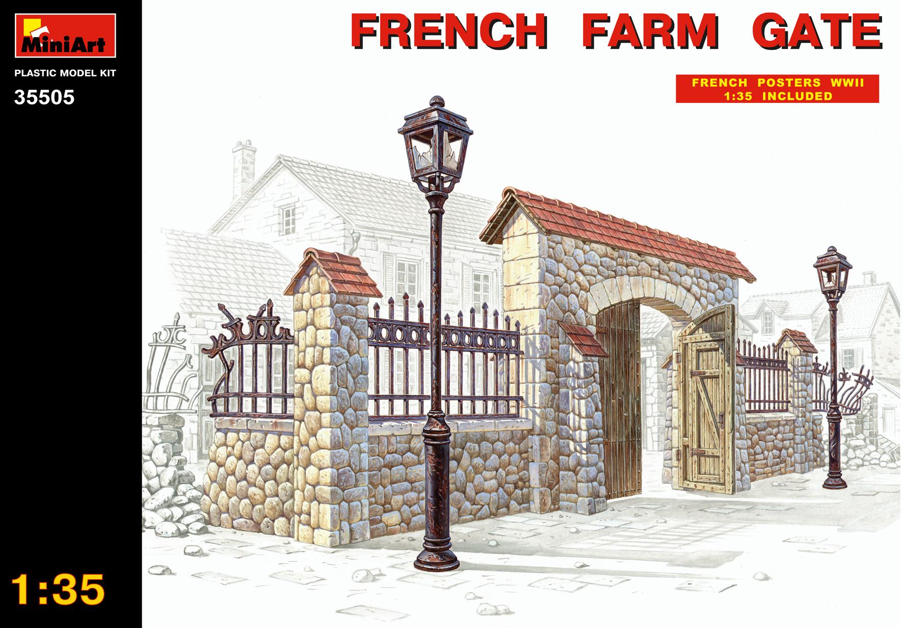 FRENCH FARM GATE