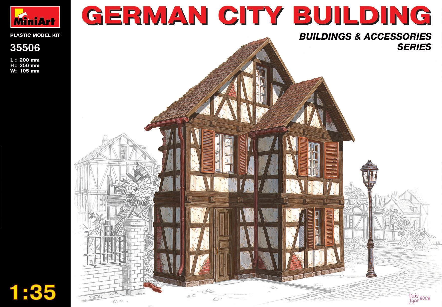 35506ドイツの都市の建物