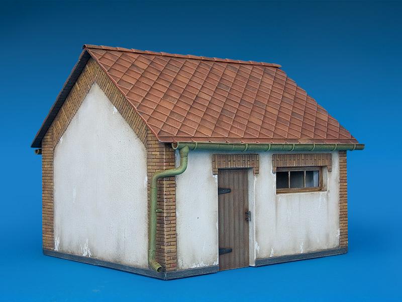 35534ヨ-ロッパの納屋
