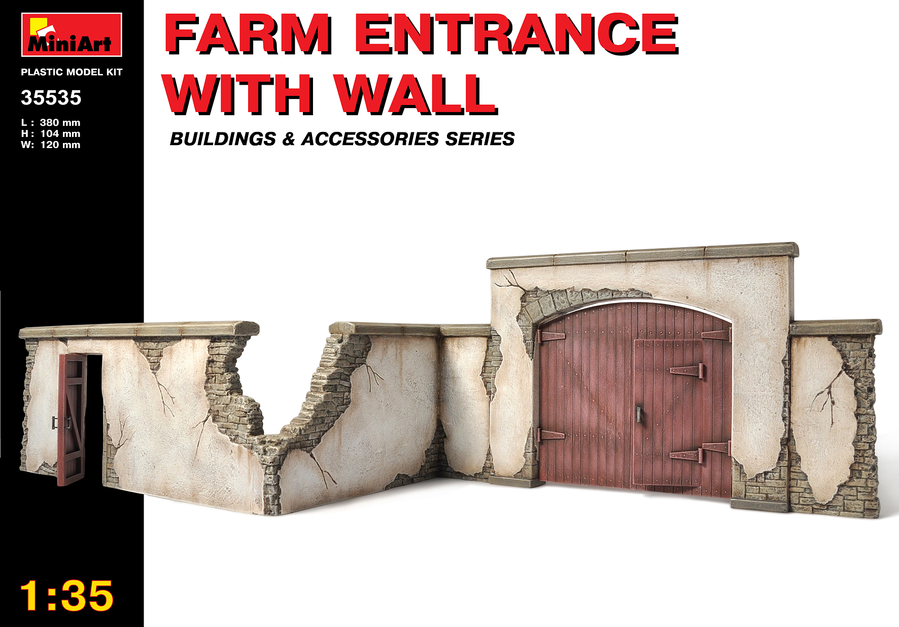 35535 FARM ENTRANCE WITH WALL