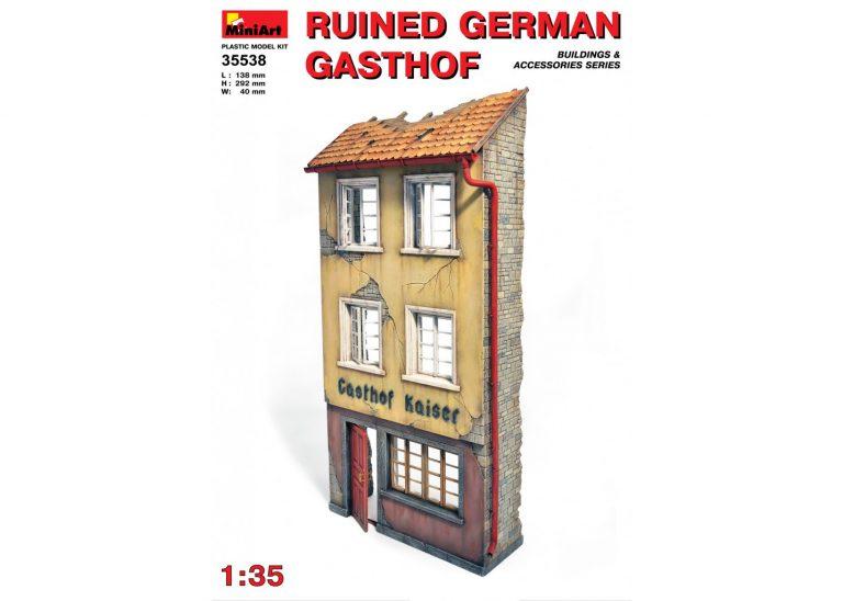 RUINED GERMAN GASTHOF