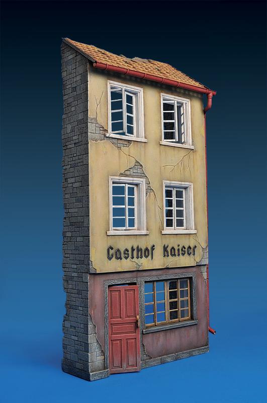 35538ドイツの廃墟の旅館