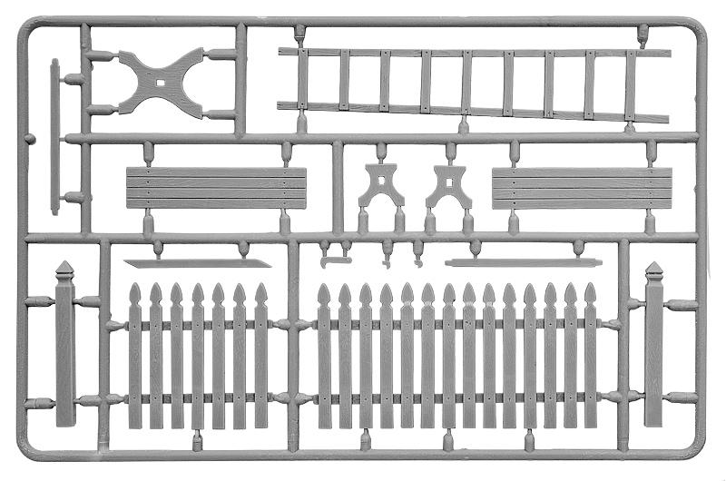 35539   场景 乡村配件(栅栏、梯子、桌椅)