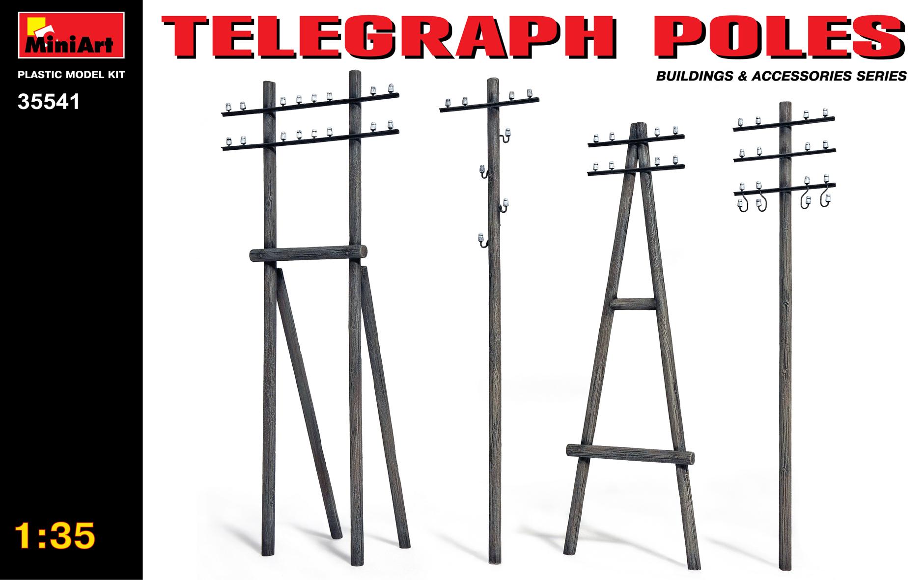 35541 TELEGRAPH POLES