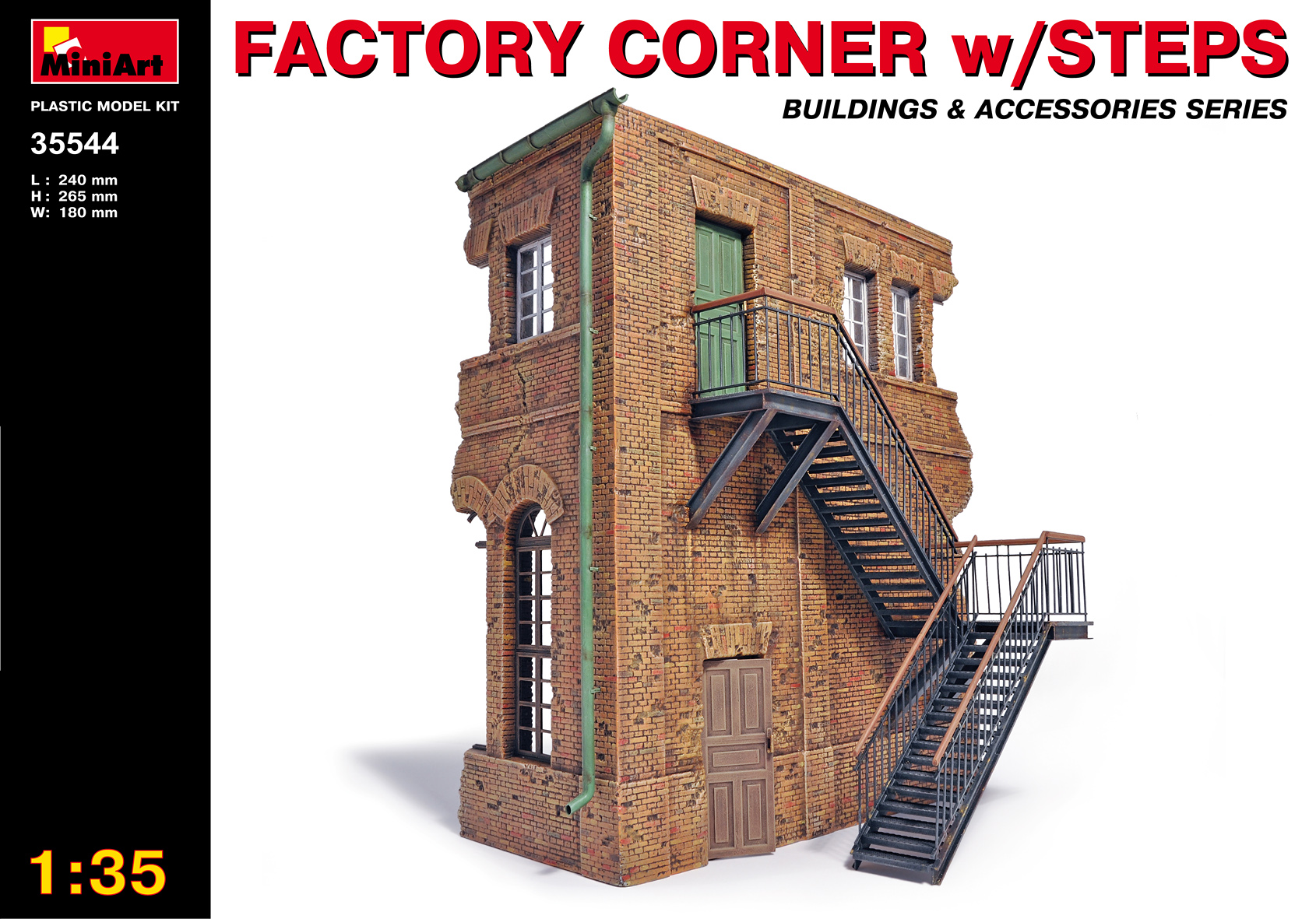 FACTORY CORNER w/ STEPS