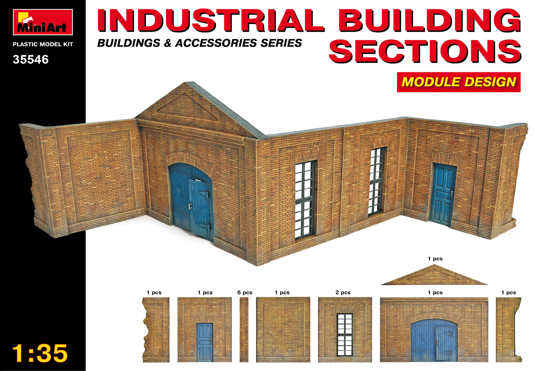 35546 INDUSTRIAL BUILDING SECTIONS