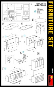 Content box 35548 FURNITURE SET