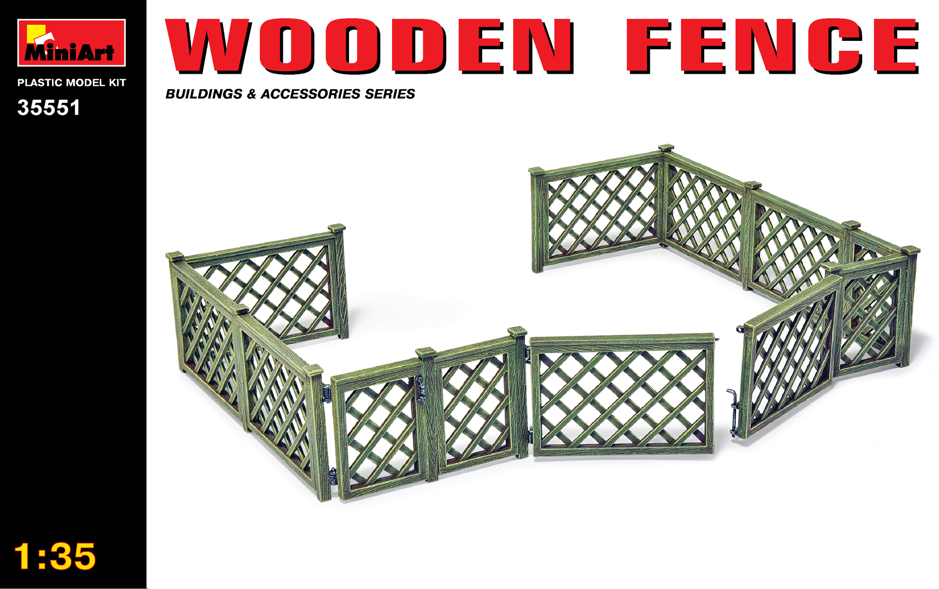 35551 WOODEN FENCE