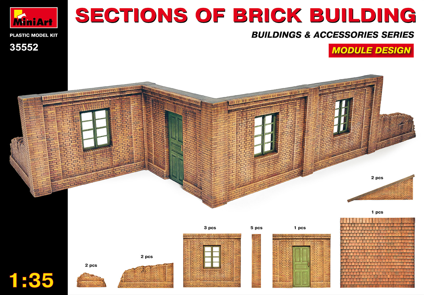 35552 SECTIONS OF BRICK BUILDINGS