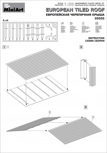 Content box 35555 EUROPEAN TILED ROOF