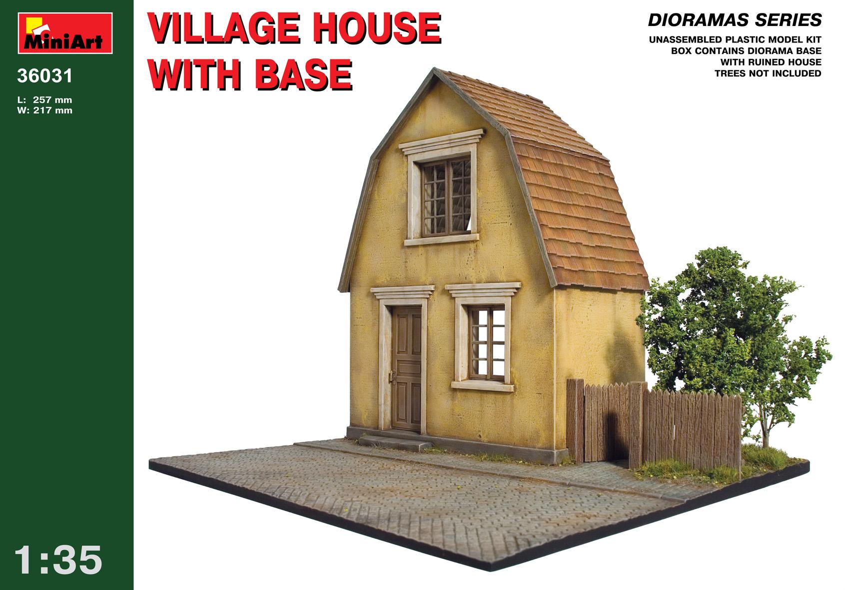 36031 VILLAGE HOUSE w/BASE