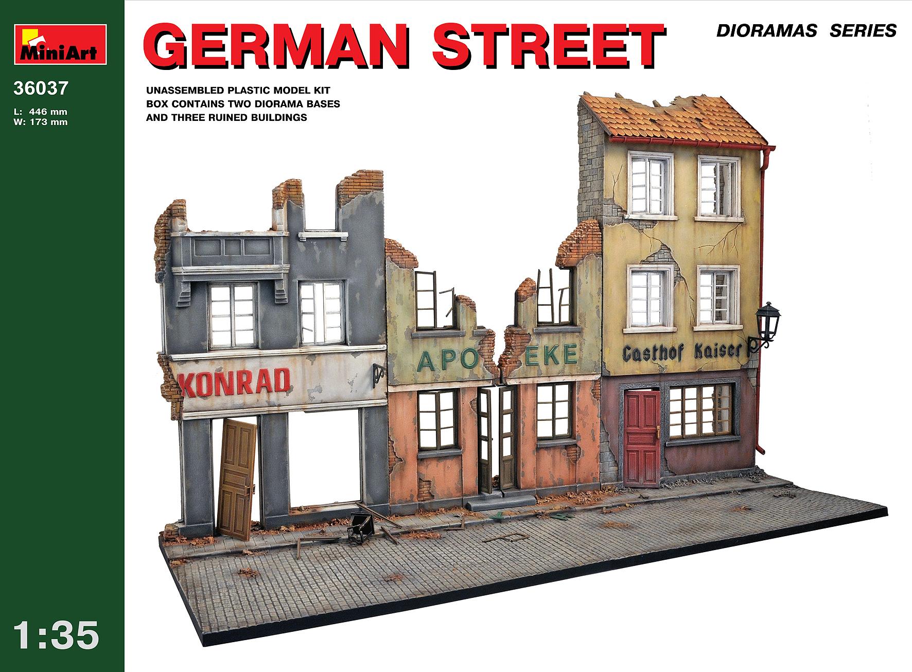36037ドイツの通り